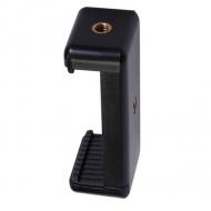 Telefoonklem voor statief en selfiestick compact (5,5-8 cm)