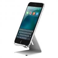 Aluminium smartphone standaard zilverkleurig