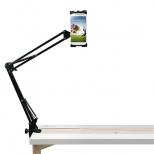 Aluminium smartphone- en tabletstandaard met verstelbare arm